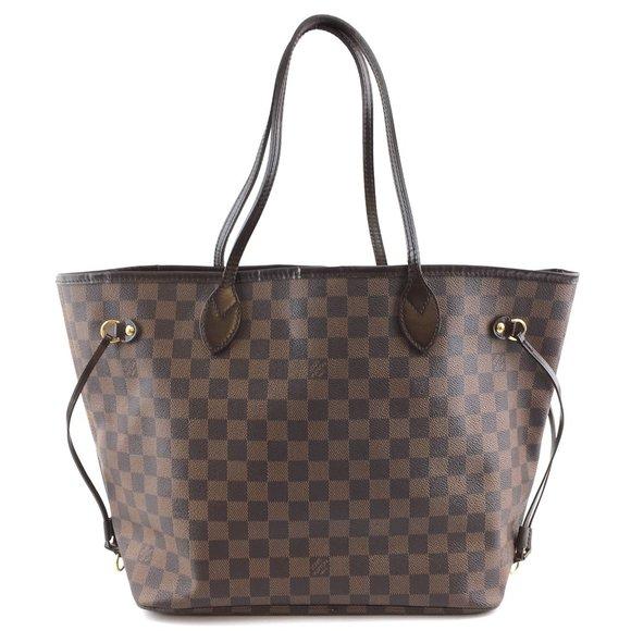 Louis Vuitton Handbags - Neverfull Mm Tote Brown Shoulder Bag